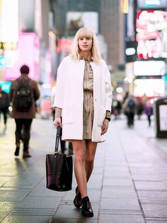4 Fresh Ways to Nail Your Neutrals This Spring via @WhoWhatWear love the coat =)