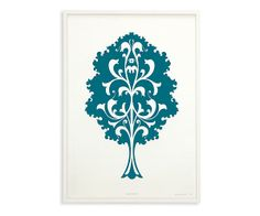 Eva Zeisel & KleinReid, Trees Series Oak - Limited Edition Wall Art - Accessories - Room & Board