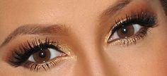 Adrienne Bailon Neutral Eyeshadow