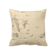 Antique Maps Pillows