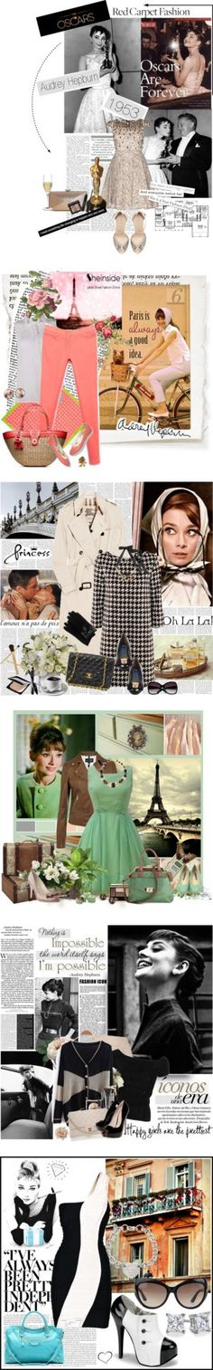 """""""Happy Birthday, Audrey Hepburn!"""" by polyvore-editorial ❤ liked on Polyvore"""