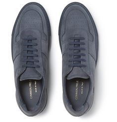 Suede Sneakers, All Black Sneakers, Common Projects, Men's Shoes, Branding, Pairs, Heels, Leather, Collection