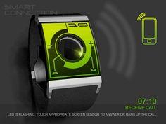 Smart Connection smartwatch concept looks pretty futuristic
