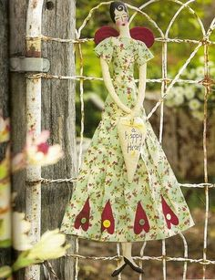 Mimin Dolls: Doll primitiva Retro Try this one Shelly