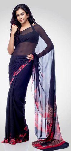Pretty Satya Paul saree