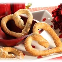 Heart Shaped Soft Pretzels Recipe