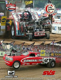 Did you know OPTIMA is an official sponsor of the Lucas Oil Pro Pulling League? Truck And Tractor Pull, Tractor Pulling, Ford Trucks, Pickup Trucks, General Tire, Truck Pulls, Logging Equipment, High Performance Cars, Oil Pulling