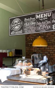Cute Cafe in Maboneng- Johannesburg | Photographer: Melanie Wessels |