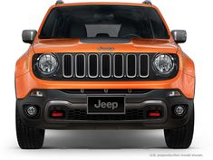 I think I just found my future car! 2015 Jeep Renegade Front View Profile