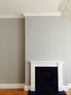 #Dulux Chic Shadow in a lovely matt finish