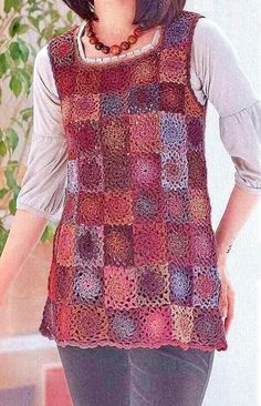 Free+Crochet+Sweater+Patterns | Crochet Sweater: Women's Crochet Tunic Pattern Free