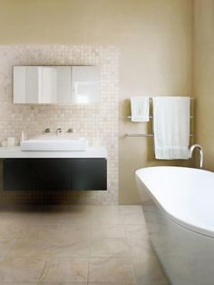 Photo Image Available in many styles and finishes porcelain tile is a versatile and durable bathroom flooring