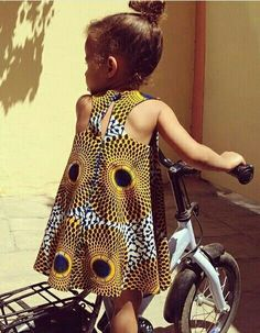 Stunning George Occasion Wrappers and Blouses - Sisi Couture African Fashion Ankara, African Inspired Fashion, African Print Dresses, African Print Fashion, African Dress, Little Girl Fashion, Little Girl Dresses, Toddler Fashion, Kids Fashion