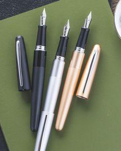 New Jinhao No 51A Fine Fountain Pen Transparent Green with Chrome Trim