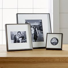 Shop Brushed Antique Bronze 11x14 Frame.  Our brushed antique bronze frame adds drama to photo displays with its shadow-box styling and oversized off-white mat.  Square frame can be displayed on the wall or tabletop.