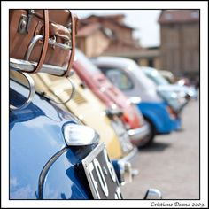 Fiat 500 are ready to move.