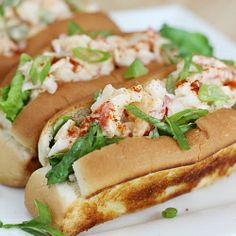 Lobster Rolls: the perfect New Brunswick Snack