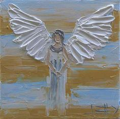 Angel Painting Commission Art Angels Custom Painting Made