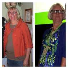 Wow!! My mom, ladies and Gentlemen!! She lost over 40 pounds in THREE months without exercise!!