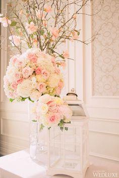 Die 119 Besten Bilder Von Hochzeit Rosa Creme Blumenschmuck