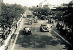 Lisboa de Antigamente: Corrida de automóveis e motos no Campo Grande