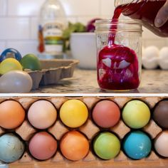 Natural Food Coloring, Easter Egg Dye, Dyes, Pantry, Spices, Veggies, Foods, Traditional, Canning