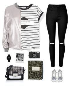 """""""Street style"""" by genesis129 ❤ liked on Polyvore featuring MANGO, Karl Lagerfeld, Alexander McQueen, Lomography and Alessi"""