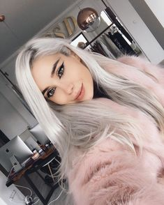 Faux Fur, Selfie, Spring, Hair Ideas, How To Wear, Goals, Instagram, Collection, Fashion
