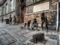 Famous Statues of Budapest: Statue of the Paul Street Boys (The Paul Street Boys //Hungarian: A Pál utcai fiúk// is a youth novel by the Hungarian writer Ferenc Molnár)