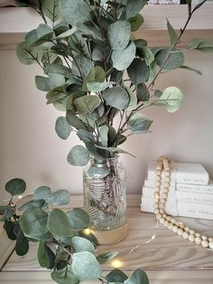 An Essential Piece of Greenery for that Farmhouse Feel We just love Eucalyptus, it fits well in any seasonal decor and is so versatile. It also goes well with any home decor style. You will receive three sprays to create the effect in image one, add more, to create a fuller bouquet. (Price is for 3 sprigs pic. 1) Measurements: 92cm Not happy with your purchase? The Farmhouse Market wants all of our customers to be 100% happy so if for whatever reason you are not then contact us within 14 days an Eucalyptus Bouquet, Eucalyptus Wedding, Home Decor Styles, Sprays, Seasonal Decor, Greenery, Farmhouse Decor, Glass Vase, Decor Ideas