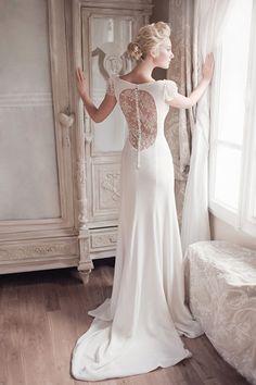 robe de mariée créateur Paris et Lyon - Constance