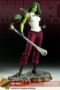 Sideshow Collectibles - She-Hulk Premium Format Figure