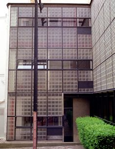 Maison de Verre, Paris, residence/office complex completed in 1932 for gynecologist Jean Dalsace and his family.