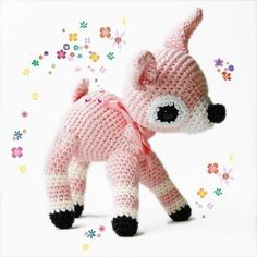 Little Fawn amigurumi pattern (crochet)