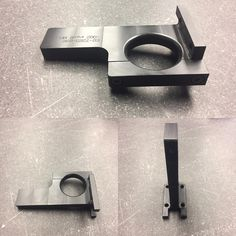 Hose management bracket in black delrin. #manutec #cover #protective #fabrication #hose #hosemanagement #plastic #cncmachining #cncmilling #cncmill #madeinamerica #madeinusa #madeinmichigan #usmanufacturing #americanmade