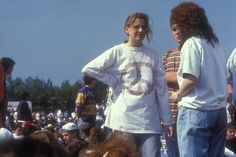 5311b53e896 More ideas. Stone Roses Fans at Spike Island ...