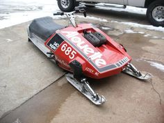 My 1976 440lc Rupp Alouette Brute Snowmobile Vintage