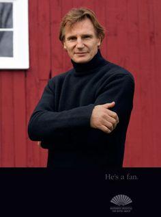 Liam Neeson - Actor: http://www.mandarinoriental.com/celebrity-fans