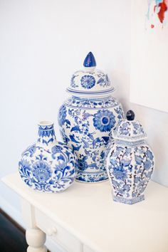 Group Chinoiserie together for a twist on traditional: http://www.stylemepretty.com/living/2015/08/10/trending-all-things-indigo/