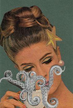 octopoda: Cephalopod Coffee by Dadadreams Kraken, Medusa, Octopus Art, Candy Art, Fiction, Plant Drawing, Lovely Creatures, High Art, Art Party