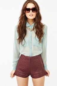 one of our favorite color combos - mint + burgundy