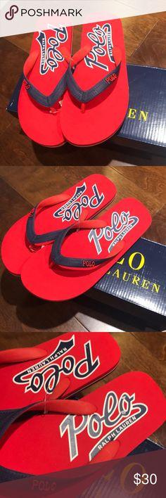 896563332f8af Polo Ralph Lauren men s flip flops Brand new pair of flip flops with box .  Polo by Ralph Lauren Shoes Sandals   Flip-Flops