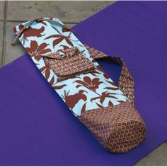 Yoga Mat Carrier Sewing Pattern Download