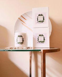 Luisa Maria Benito presenta /DESIGN Nº4/ Velas exclusivas para hogar , con notas olfativas de marcado carácter mediterráneo. Table Furniture, Furniture Design, Candels, Handmade Candles, Floating Shelves, Presents, Interior Design, Lima, Home Decor