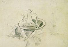 Drawings - Still Life, 1922