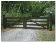 Classic Wooden Gates (34)