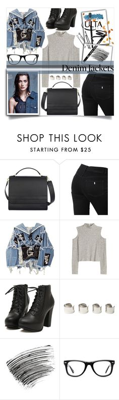 """#Letter_A:Autumn jackets"" by kawtar-el ❤ liked on Polyvore featuring STELLA McCARTNEY, BLK DNM, H&M, BOBBY, Calle, Maison Margiela, Bobbi Brown Cosmetics, ULTA and Muse"