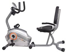 Body Xtreme Fitness Recumbent Bike BXF003  Home Exercise Equipment SilverOrange Magnetic Tension Recumbent Bike with Workout Goal Setting Computer -- Check this awesome product by going to the link at the image.