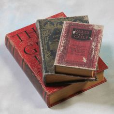 #Antique book set 3 storage boxes #think grow rich/sear family #guide/rules of go,  View more on the LINK: 	http://www.zeppy.io/product/gb/2/282085223466/