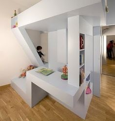 Totally cool loft bed